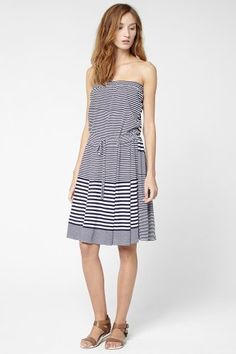 Iso j crew striped ruffle sleeve top really need this top and its lacoste variegated stripe fluid pique tube dress fandeluxe Gallery