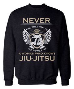 People really need to learn not to underestimate you. Show the world what makes you a force to be reckoned with when you sport these LIMITED EDITION sweaters!