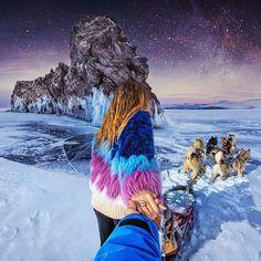 Follow me to the magic nights at Lake Baikal