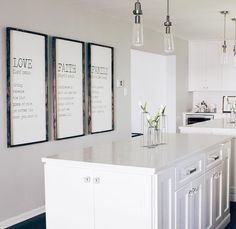 Kitchen Decor | Kitchen Style | Kitchen Inso | Bright White Kitchen | Kitchen Reno | Kitchen Ideas | Modern Kitchen | Fixer Upper | Jillian Harris | Farmhouse | Modern Farmhouse