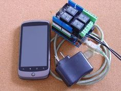 Update: See Andriod/Arduino for Beginners - Design Custom Andriod menus to switch Arduino outputs on and off. Absolutely No Programming Required for an alternative...