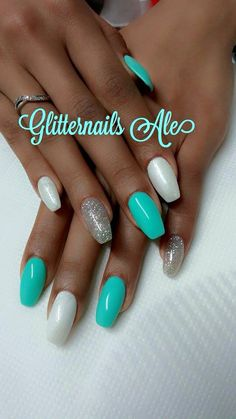 Tiffany argento e bianco