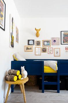Jongenskamer blauw bed - Hip Huisje