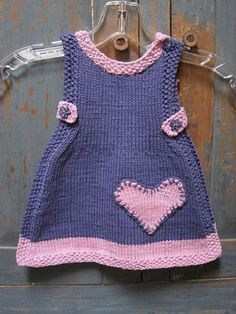 Baby fashion - roupa - February 09 2019 at Knit Lilly Rose Dress pattern by Taiga Hilliard This Pin was discovered by Ell Likes, 163 Comments - ⤵B Knitting For Kids Girls Knitted Dress, Knit Baby Dress, Crochet Girls, Crochet Baby Sweaters, Knitted Baby Clothes, Knitting For Kids, Baby Knitting Patterns, Kids Outfits, Baby Outfits