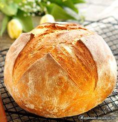 Вкусный домашний хлеб в духовке (3) (599x616, 424Kb)