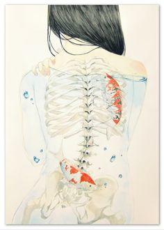 「○骨の髄」/「blue*@ついった」のイラスト [pixiv]