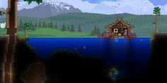 Fisherman Fishing Hut