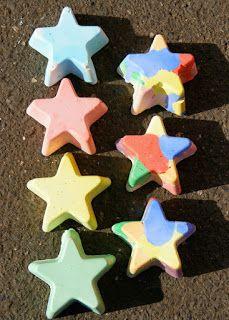 Actividades para Educación Infantil: EXPERIMENTO: las tizas de colores