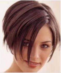 Brown Straight Hair, Short Brown Hair, Short Hair Cuts, Thick Hair, Smooth Hair, Straight Cut, Hair Styles 2014, Curly Hair Styles, Short Hairstyles For Women