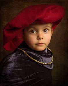 Bill Gekas inspired by the Styles of the Old Masters of Western European Painting. #photography #littlegirl #billgekas