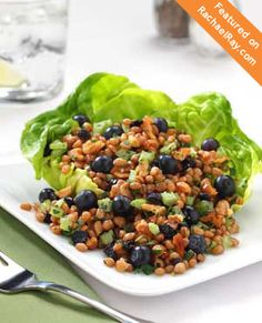 Blueberry Wheat Salad #littlechanges