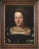 Dell'Altissimo Cristofano Portrait of Catherine de 'Medici (pictured) , in 1562 ca. - Ca. 1568