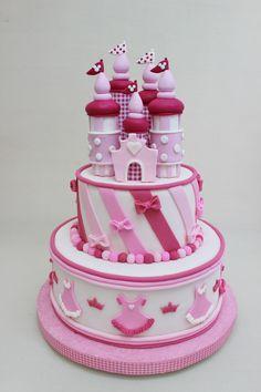 Castle Cake by Violeta Glace
