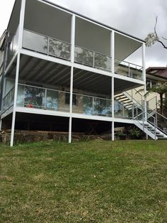 Glass Balustrades are the safe, reliable and affordable choice. Without compromising with the appeal of the home, Betta Balustrades offer a variety of glass balustrades including frameless, semi-frameless and fully framed. Stainless Steel Handrail, Glass Balustrade, Newcastle, Betta, Things To Come, Home, Stainless Steel Railing, Ad Home, Betta Fish