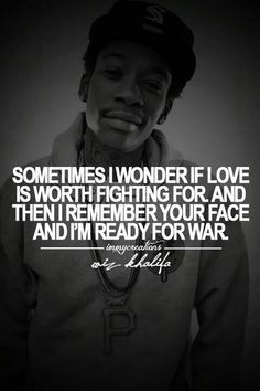 Family Rapper Quotes, Rap Lyrics About Love, Gangster Love Quotes, Music Quotes, Music Lyrics, Rap Song Quotes, Life Quotes, Wiz Khalifa Quotes, Hip Hop Quotes