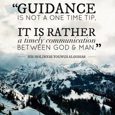 The Official MFI® Blog: Quote of the Day: Guidance is not a One Time Tip...