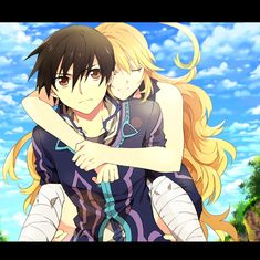 Jude and Milla from Tales of Xillia