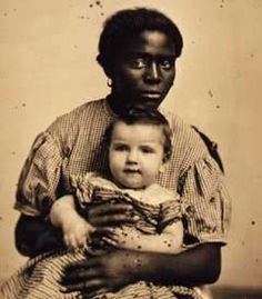 Louis, 22, of New Orleans with her legal owner (1858)