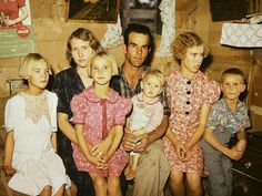 Rare color photos: Kids in the 1940s