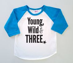 Third Birthday 'Young Wild & Three' Poly by SevenMilesPerSecond