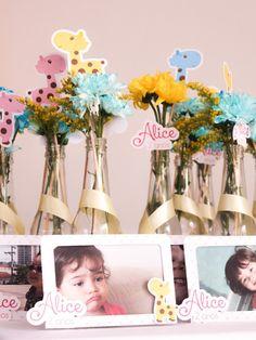 Festa tema Girafa | Macetes de Mãe