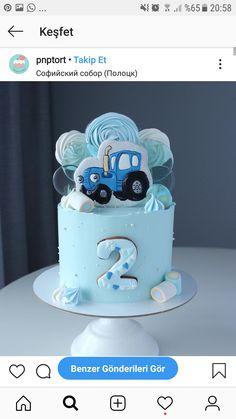 2nd Birthday Cake Boy, Man Cake, Cakes For Boys, Chocolate Cake, Cake Decorating, Birthdays, Desserts, Cake, Birthday Cake