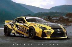 Racing-Lexus LS500. Yes please