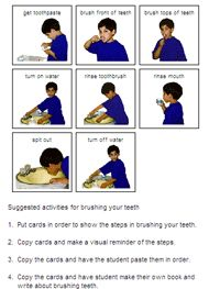 brush teeth sequence photos - Google Search