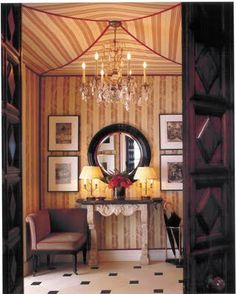 Eye For Design: Tented Ceilings......Add Some Drama To Your Interiors