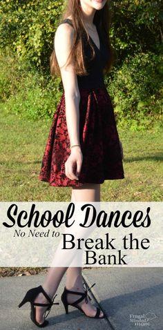 School Dances - No Need to Break the Bank - Frugal Minded Mom School Dances, Proud Mom, Mom Blogs, Frugal, Mindfulness, School Parties, Saving Money