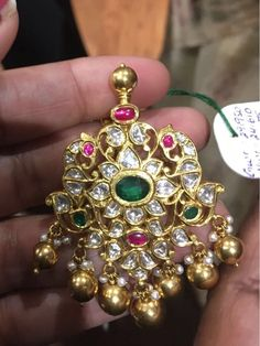 Used Gold Jewelry For Sale Gold Jewelry For Sale, Gold Jewelry Simple, Fine Jewelry, Ruby Necklace Designs, India Jewelry, Tikka Jewelry, Bridal Jewelry, Beaded Jewelry, Gold Jewellery Design