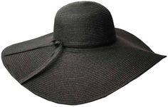 Sakkas Tropical Braided Floppy Hat With Extra Wide Brim