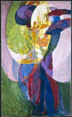 Amorpha: Fugue in Two Colors II / Frantisek Kupka / 1910-11 / oil on canvas