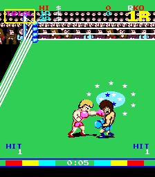 King of Boxer for MAME - Boxing game released in 1985 - The Video Games Museum has screenshots for this game Video Game Museum, Vintage Video Games, Fun Time, Arcade Games, Shadow Box, Good Times, Keyboard, Boxer, Gaming