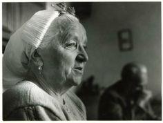 Mevrouw Toet, echtgenote van Huib Toet. 1981 Lies Wiegman #ZuidHolland #Scheveningen