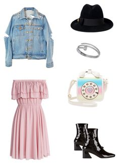 """Ring"" by dania-natashya on Polyvore featuring Chicwish, Dorateymur, Gucci, Betsey Johnson and Cartier"