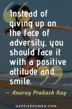In The Face Of Adversity Quote