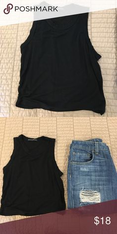 Brandy Melville Crop Top In good, preloved condition Brandy Melville Tops Crop Tops