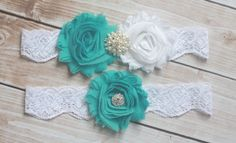wedding garters, idea, futur, blue bridal, garter pool, blue weddings, bridal garters, blues, pool blue