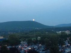 A red moon rises over Penn State as Football Eve comes to an end - Aug 31, 2012 Posted to Facebook by OnwardState https://www.facebook.com/OnwardState