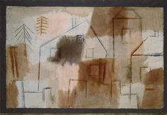 Afbeelding Paul Klee - Ort in Blau und Orange, 1924.