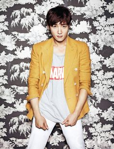 Choi Jin Hyuk in a Marvel shirt. Choi Jin-hyuk, Choi Seung Hyun, Korean Star, Korean Men, Korean People, Asian Actors, Korean Actors, Asian Boys, Asian Men