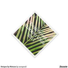 Stripes by Nature Paper Napkins - 25% off with code MARCHMADNEZZ from ZoeSPEAK