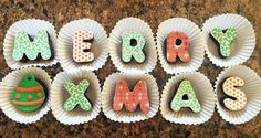 Misk'i Message Merry XMas #christmas #brownies #browniemessages