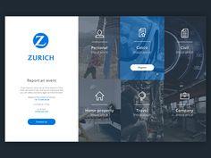 Insurance by Giedrius Butkus Website Layout, Web Layout, Layout Design, Best Web Design, App Design, Branding, Intranet Design, Pag Web, Web Mockup