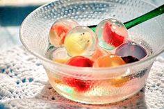 まるでビー玉♡中にフルーツの入った寒天スイーツ「九龍球(クーロンキュウ)」が可愛すぎる♪