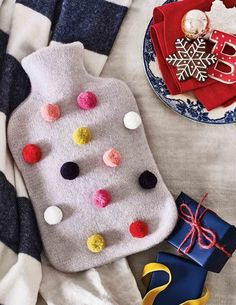 Cosy Hot Water Bottle A0102 Homeware at Boden