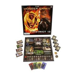 The Hunger Games Movie The District 12 Strategy Game #ebay #trinital #HungerGames