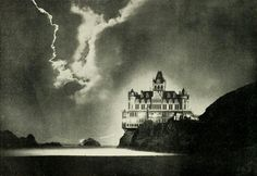 cliff house at night 1899 (by Captain Geoffrey Spaulding)