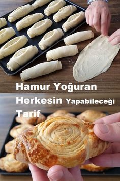 Pizza Pastry, Turkish Recipes, Beautiful Cakes, Garlic, Goodies, Food And Drink, Soup, Sweets, Baking